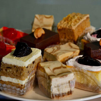Plate of Cheesecake